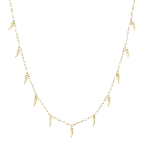 Multi Spike Necklace