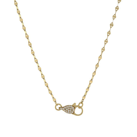 Mirror Lock Chain Choker