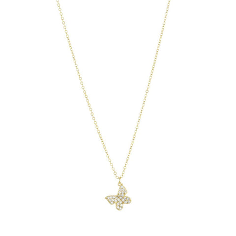 Marina Butterfly Necklace