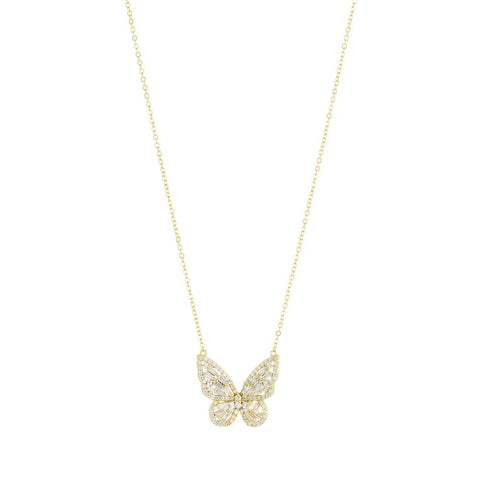 Joy Butterfly Necklace