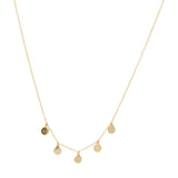 Zadie Disc Necklace (More Metals)