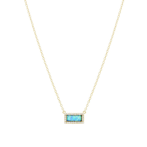 Jasmine Opal Necklace