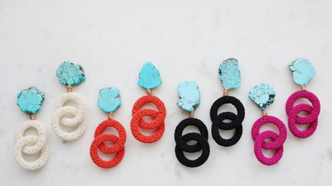 Bali Turquoise Earrings