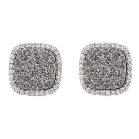 Aubra Druzy Stud (More Colors)