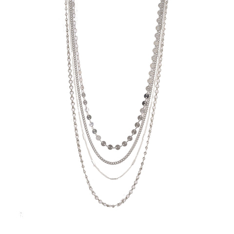 Tiered Chain Necklace (More Metals)
