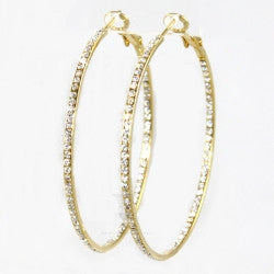 Large Inside Out Hoops (More Metals)