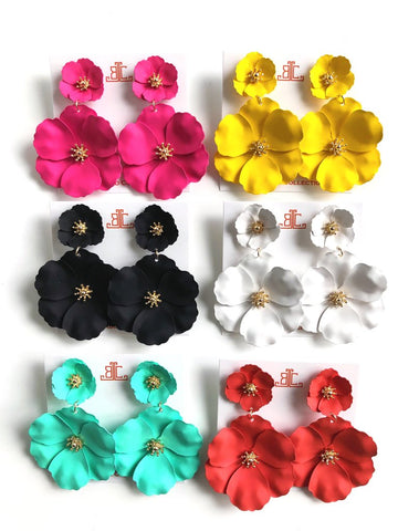 Maryn Flower Earrings