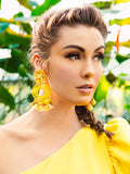 Floral Dreamcatcher Earrings