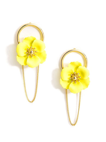 Sugar Flower Earrings (More Colors)