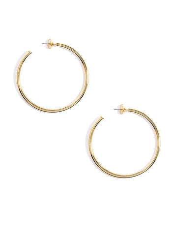 Roslyn Medium Hoop Earrings