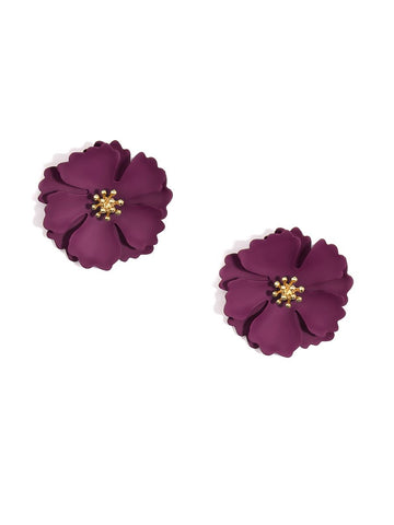 Camellia Flower Earrings (More Colors)