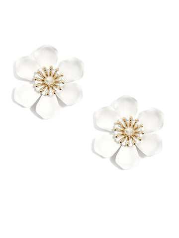 Statement Lily Earrings (more colors)
