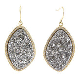 Donatella Druzy Earrings (More Metals)