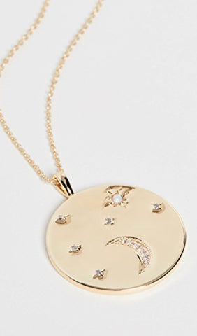 Celestial Coin Necklace
