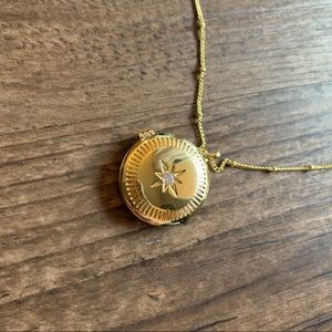 Stella Locket Necklace