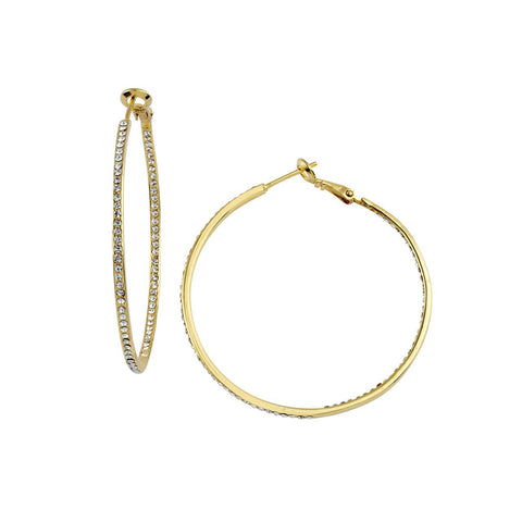 Medium Inside Out Hoops