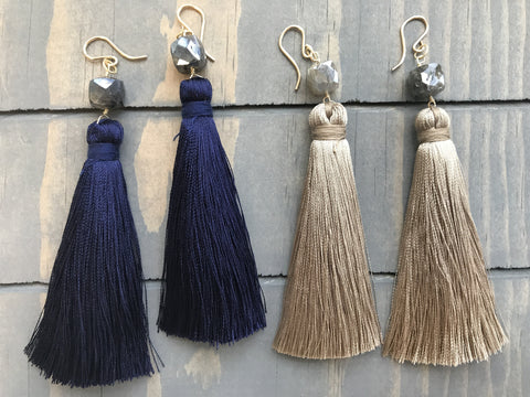 Noyes Tassel Earrings