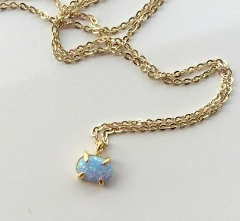 Mini Opalite Necklace