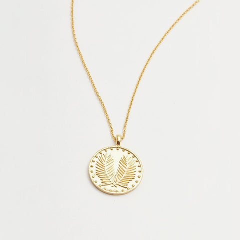 Palm Coin Necklaces