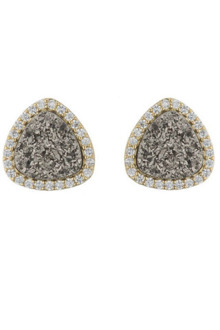 Molly Druzy Studs (More Colors)