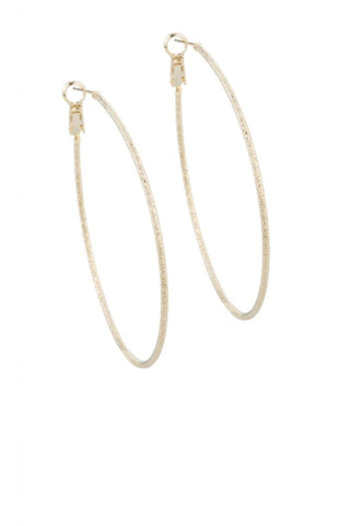 Diamond Dust Hoops