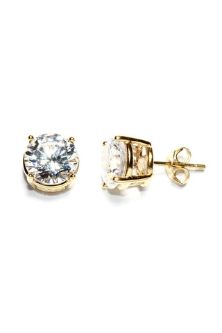 9mm Diamond Studs