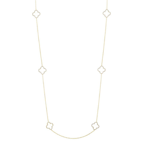Hannah Clover Necklace