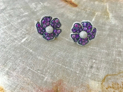 Keeley Flower Studs (More Colors)