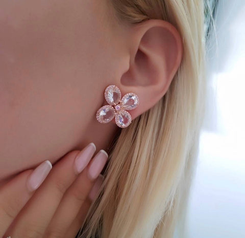 Orchid Studs (More Metals)