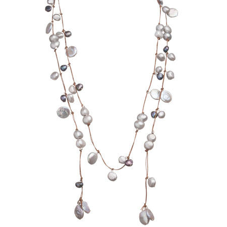 Sofie Open Lariat Necklace (More Colors)