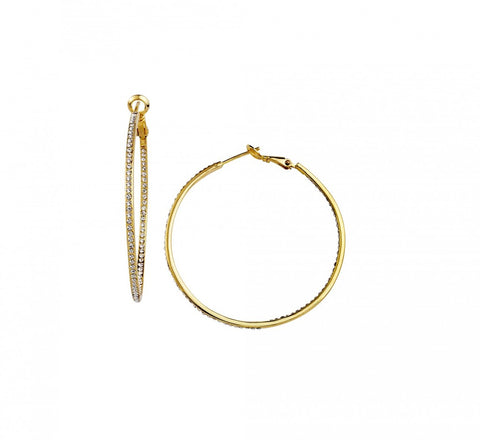 Small Inside Out Hoops