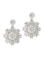 Snowflake Earring (More Metals)