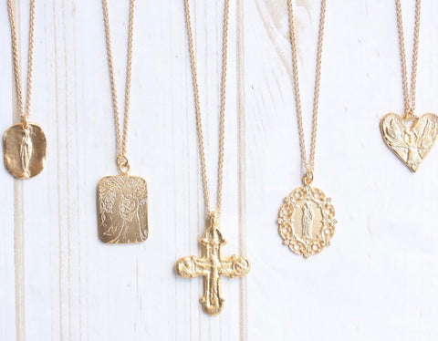 St Cecilia Necklaces