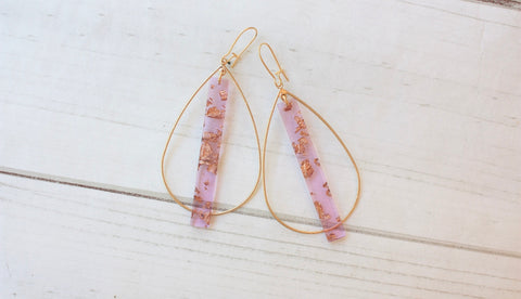 Rae Glitter Earrings