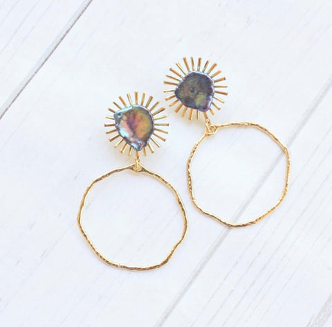 Blanca Peacock Earrings