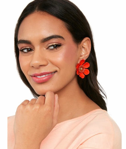 Statement Lily Earrings
