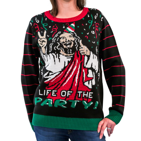 Women's 'Life of the Party' Christmas Sweater