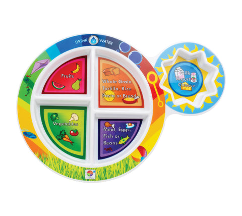 "7"" Kid's 5-Section MyPlate"