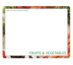 Food Safety Cutting Board - Fruit and Vegetable