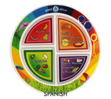 "7"" Kid's 4-Section MyPlate"
