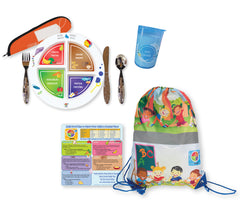 NWA Kid's MyPlate Dinnerware Set