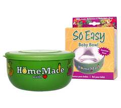 Fresh Baby's So Easy Baby Bowl is perfect for baby food, cereal, soup or snacks!