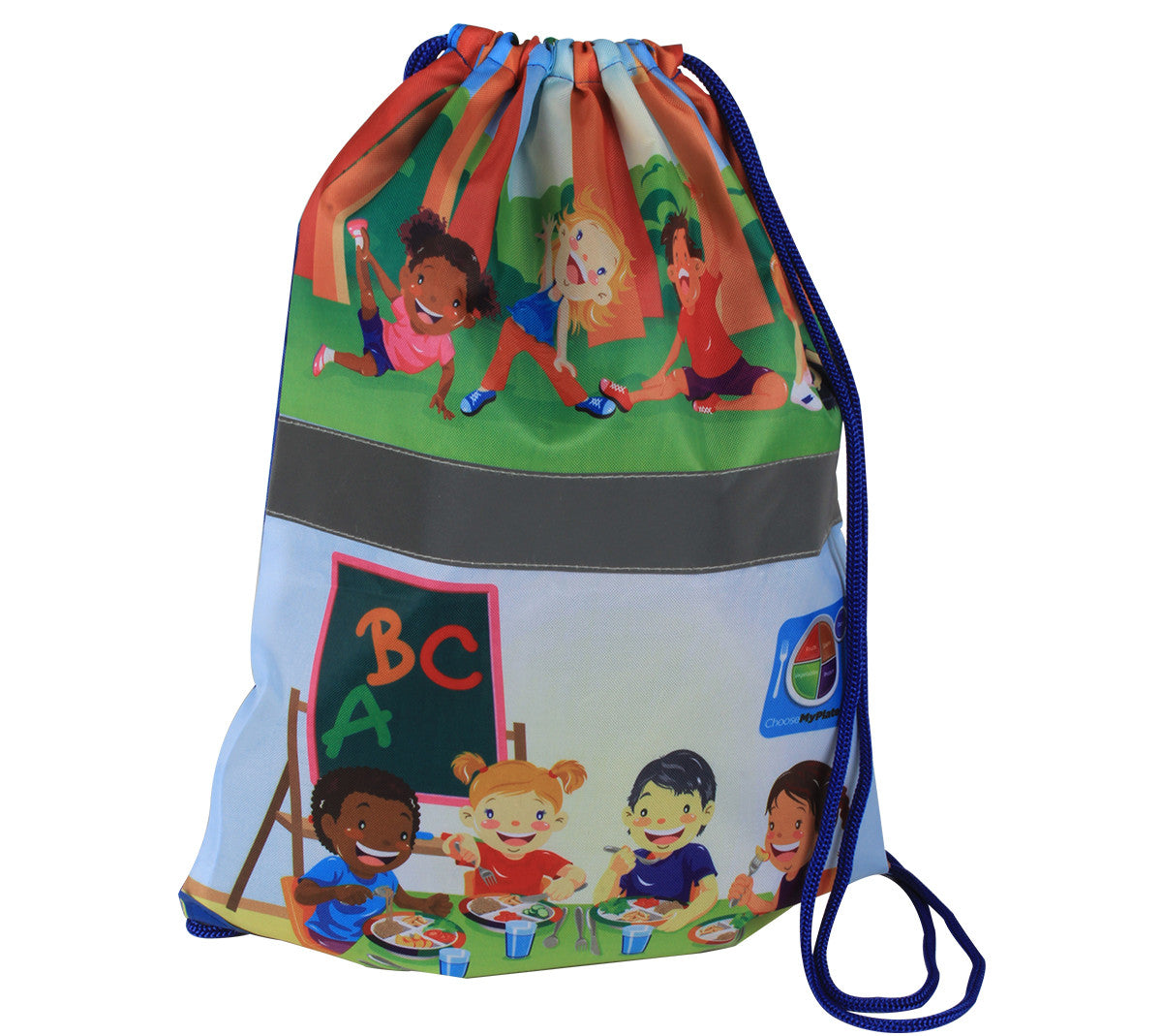 Kids MyPlate Backpack Gym Bag