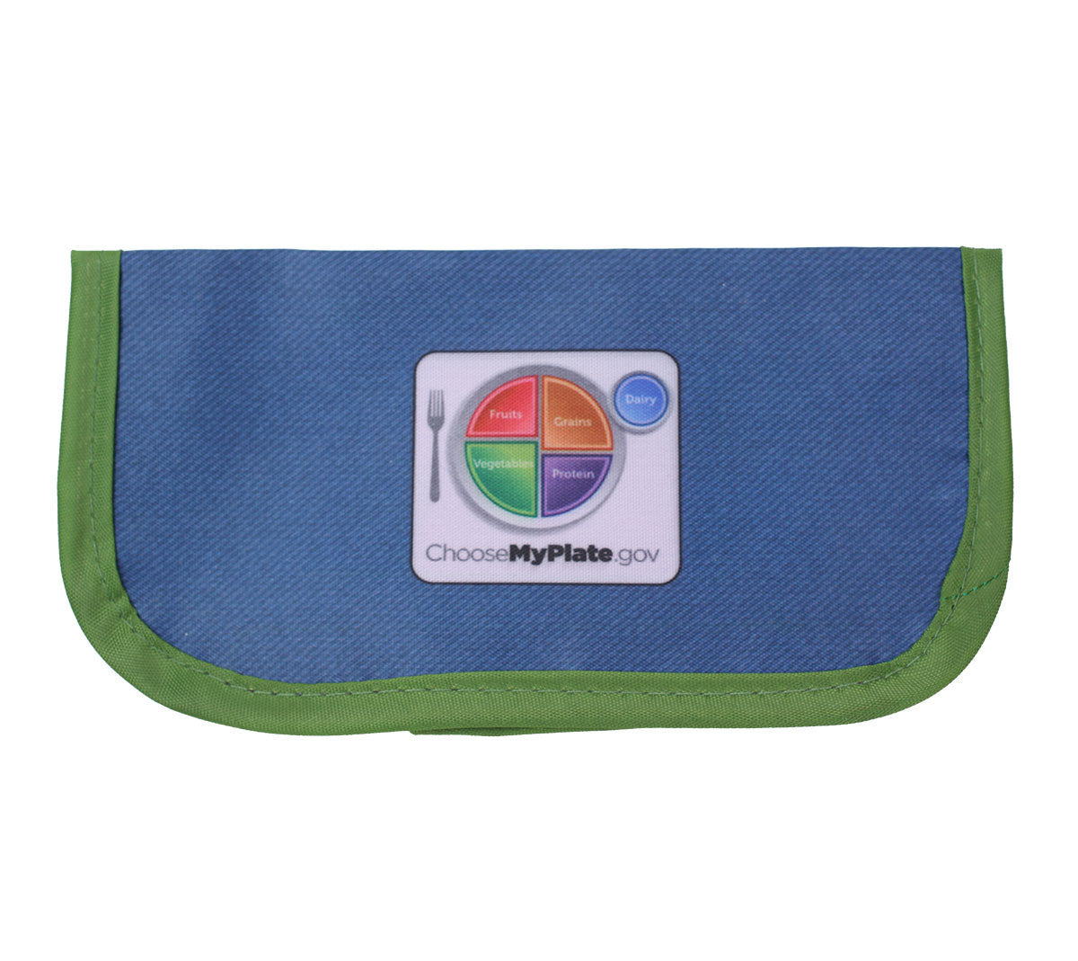 Fresh Baby's MyPlate snack bag is perfect for packing a healthy snack or lunch box side.