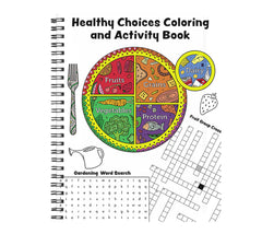 Healthy Choices Coloring & Activity Book