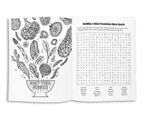 Lettuce Turnip the Colors Word Search & Coloring Booklet