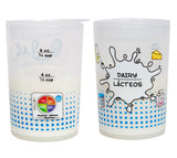Kid's MyPlate 4-to-6 oz Dairy Training Cup (w/ Lid) - Bilingual