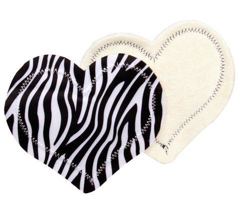 Nursingpads Zebra X Large on my health myplate tray