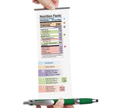 Banner Pen: Nutrition Facts - bilingual