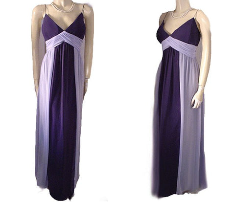 BEAUTIFUL RAYLIA 2-TONE GODDESS EVENING GOWN GODDESS EVENING GOWN EXTRA LARGE SIZE SIZE 24 / 3/X